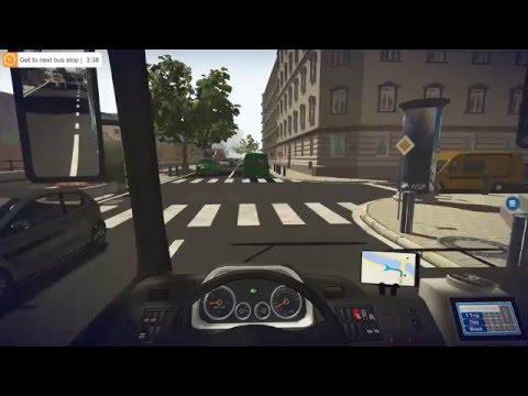 Bus Simulator 16 - Residential District Gameplay 4K