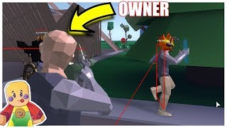 The Owner Of Strucid Uses Aimbot (Roblox)