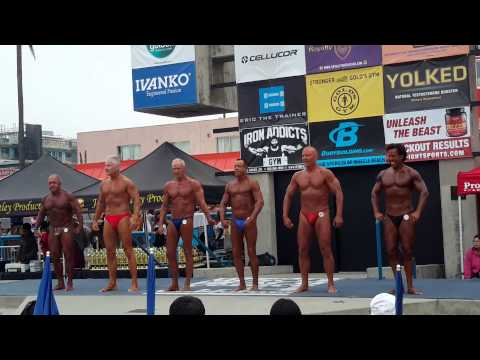 Muscle Beach Contest 2015 - Masters and Novice