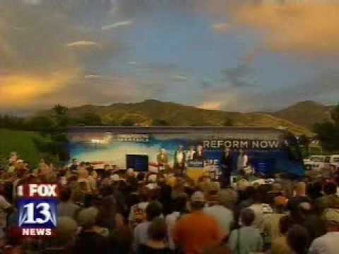 "OFA ""Health Insurance Reform Now"" Bus Tour Rolls Into Salt Lake City"