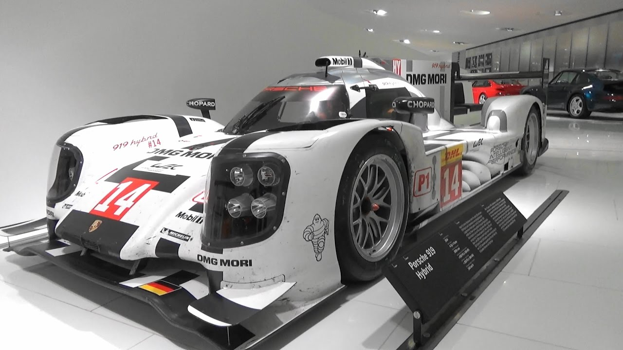 porsche 919 hybrid 2016 porsche museum stuttgart youtube. Black Bedroom Furniture Sets. Home Design Ideas