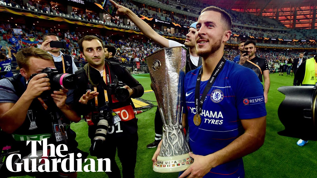 Eden Hazard: Chelsea Players Pay Tribute To Departing