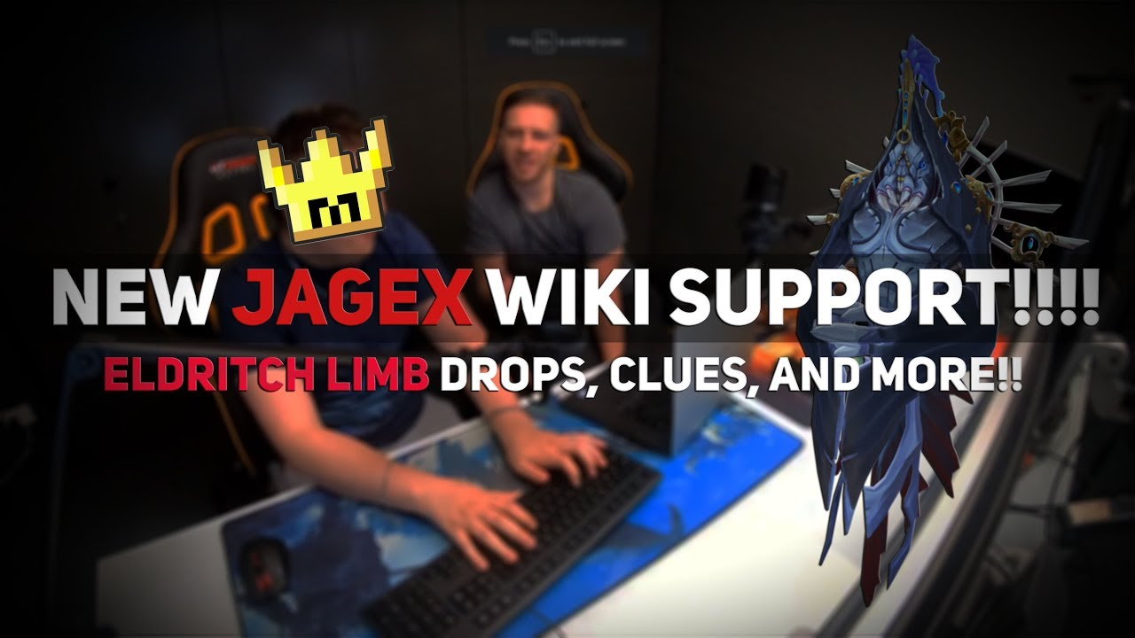 NEW JAGEX WIKI INTEGRATION!!! ELDRITCH LIMB DROPS, CLUES, AND MORE!!!! [RS3 Twitch Highlights #54]