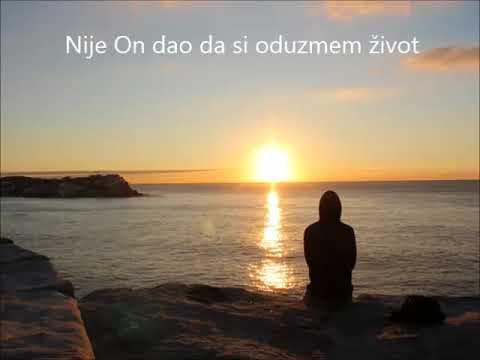 Nije On dao da si oduzmem život - Svjedočanstvo - Udruga Mlado Sunce