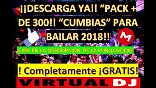"""¡¡DESCARGA PACK DE 300+ CANCIONES DE CUMBIA!! """"ACTUALIZADA"""" TOTALMENTE ¡GRATIS!"""