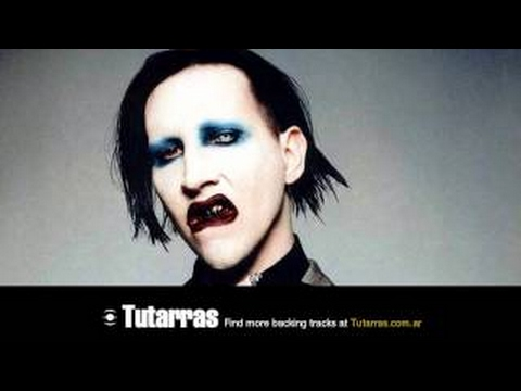 Marilyn Manson - tainted love [Guitar Backing tracks]