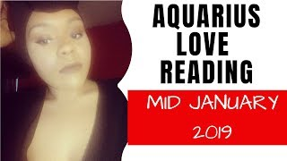 """Aquarius """"They know you`re obsess with them"""" January 2019 love reading"""