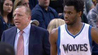 Andrew Wiggins chokes away game against Jazz (1/7/17)