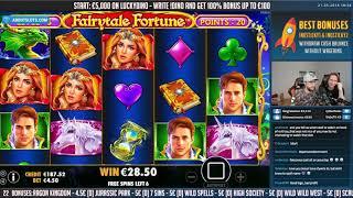 BIG WIN!!! Fairytale fortune BIG WIN - Online Slots - Casino (gambling)