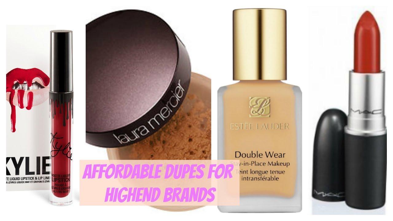 middle end makeup brands