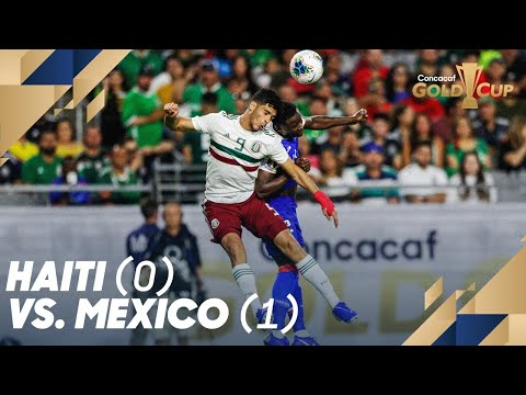 Haiti (0) vs. Mexico (1) - Gold Cup 2019