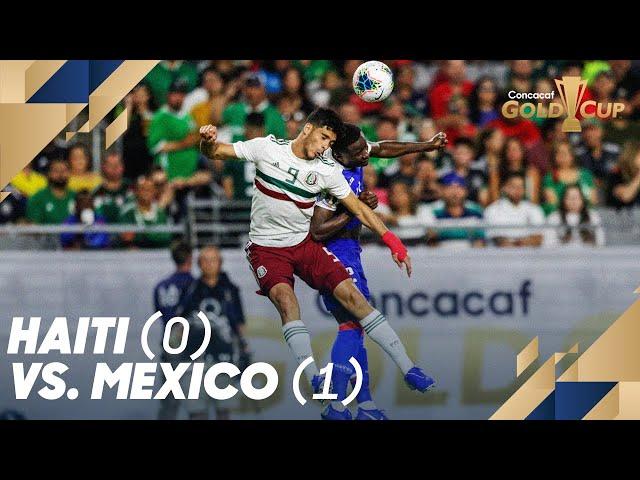 Haiti (0) vs. Mexico (1) - Gold Cup 2019