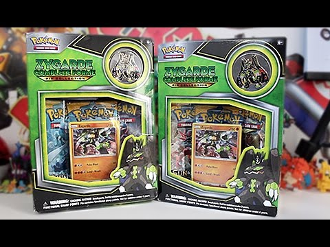 Opening 2 Zygarde Complete Collection Boxes!!