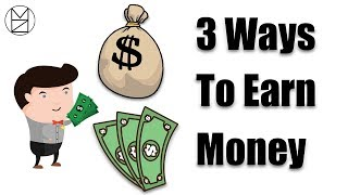 3 ways to earn money ($100/day)|| 2018
