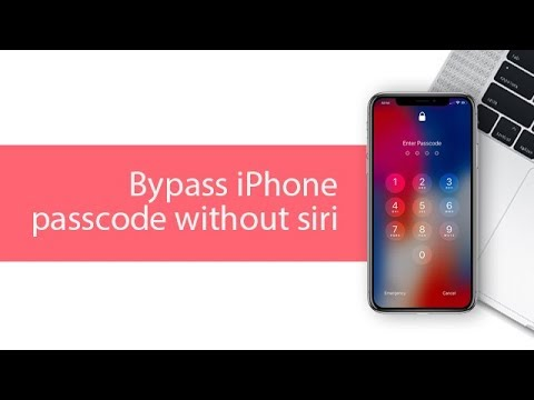 how to unlock iphone without passcode without restore 2018