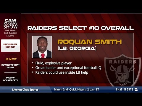 Raiders News: Raiders Lose Coin Flip to 49ers, & Will Select #10 Overall in 2018 NFL Draft - 동영상