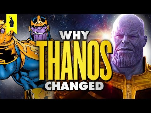 Why Thanos Changed – Wisecrack Edition