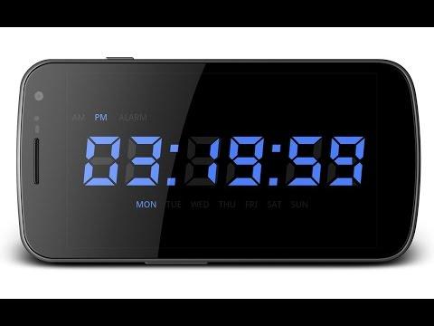 планшет что такое ночной режим часов