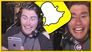 Snapchat Q&A: Top Irish YouTuber, Gunshots Outside My Window & The Dog Farts!