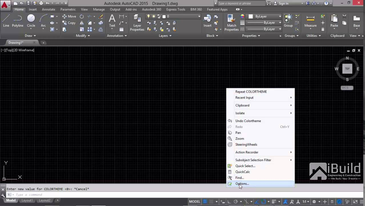autocad 2015 how to change color theme scheme change color scheme theme