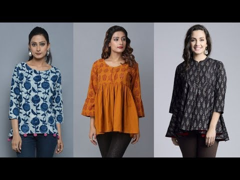 Latest Comfortable Short Kurti Designs Par: 04