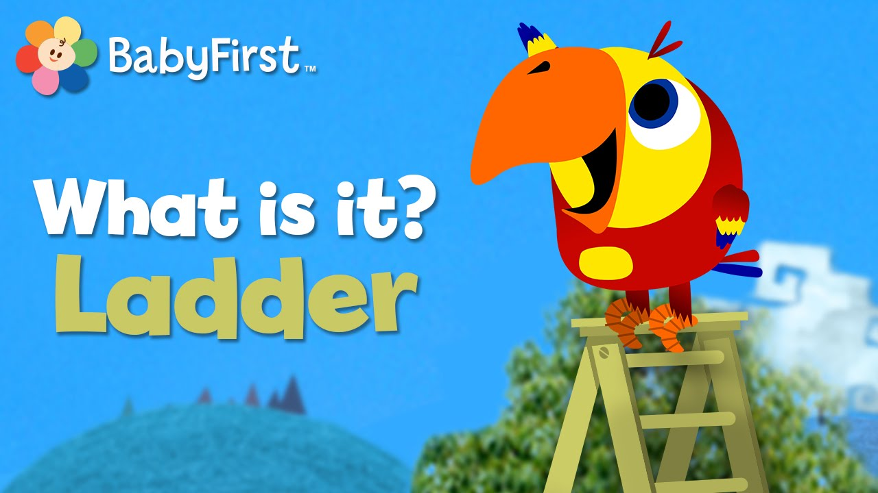Ladder   What Is It?   Vocabularry   BabyFirst TV - YouTube