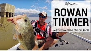 Fishing Theewaterskloof with Rowan Timmer