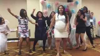 Baby Momma Dance @ Vanessa & Manuel's Twin Baby Shower