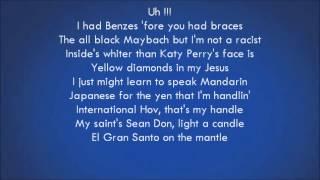 Repeat youtube video Drake   Pound Cake Paris Morton Music 2 Lyrics) Feat  Jay Z