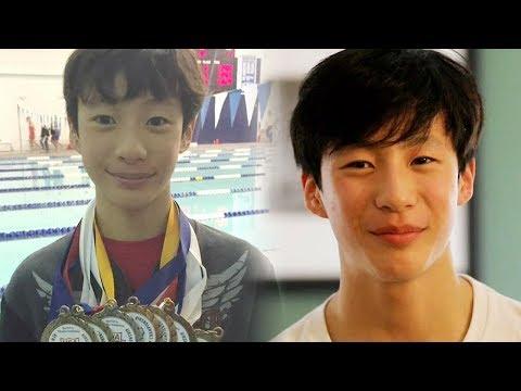 윤상 아들 윤찬영, 아이돌 비주얼의 훈남 수영선수 @싱글 와이프2 6회 20180228
