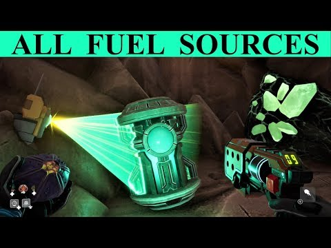 Journey to the Savage Planet: Round Trip - All Fuel Sources Location |