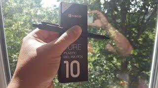 Xiaomi KACO Pen/Новые ЧЕРНЫЕ Ручки Сяоми Посылка из Китая/AliExpress. Обзор Ручки Xiaomi