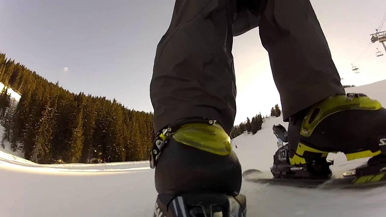 Salomon de et Kart ski fixations Chaussures Short ski mini Y6f7vbyg