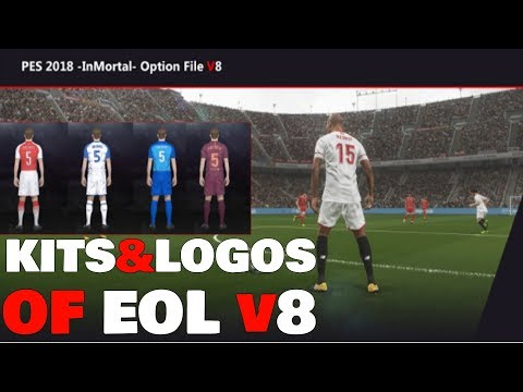 PES 2018 InMortal PATCH V8 DOWNLOAD PC