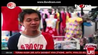 TV One : Usaha Baju Murah di GROSIRBAJUKU.com