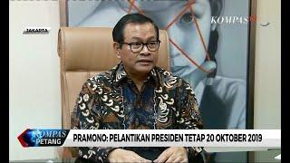 Soal Pelantikan Presiden, Jokowi Tunggu Pimpinan MPR Baru