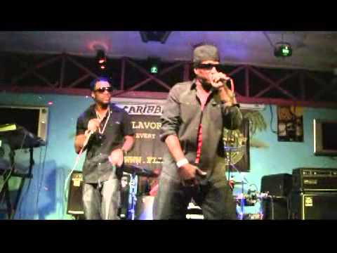 """Komputer and Wossie  """"Live"""" @ Caribbean Grill"""