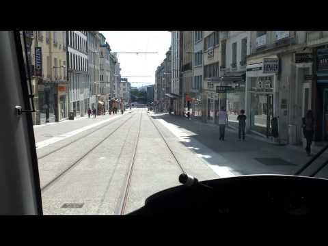 Brest tramway Saint Martin vers Jean Jaurès onboard le  2012/07/08 à 16h48m08