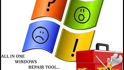 how to use tweaking.com all in one windows repair tool