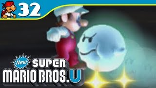 New Super Mario Bros. U | Swaying Ghost House - Frosted Glacier-6 - 32 (Wii U Gameplay Walkthrough)