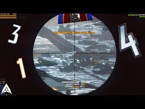 Super Long Range Sniper Feed! - Battlefield 1