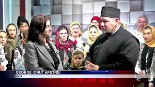 Primii colindătorii la NEst TV Channel au sosit din Mitocu Dragomirnei