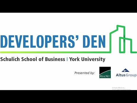 Developers' Den at Schulich School of Business