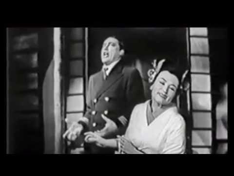 Mario Del Monaco Madama Butterfly Live 1957 Clip Video Audio HQ