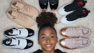 sneaker shopping with