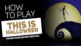 This is Halloween - The Nightmare before Christmas | SUPER PADS KIT STRANGE
