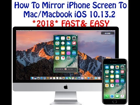how to mirror iphone to mac mirror iphone screen to mac macbook ios 10 13 2 2018 3333
