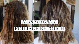Foiliage Retouch || Hair Tutorial