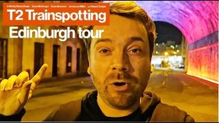 T2 Trainspotting Tour of Edinburgh (with recreated scenes)