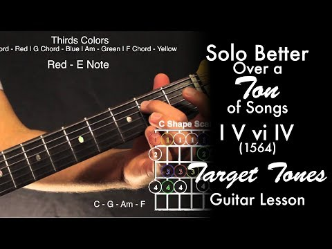 Solo Better Over a TON of Songs   I V vi IV